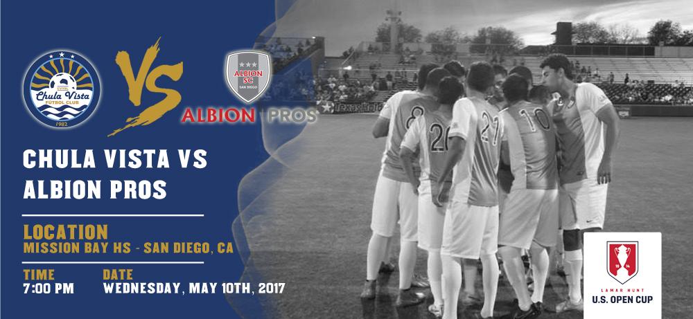 Chula Vista @ Albion SC - U.S. Open Cup 2017