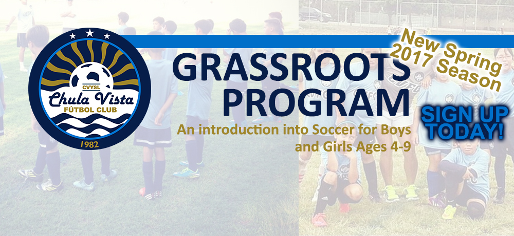 2017 Spring Grassroots Program