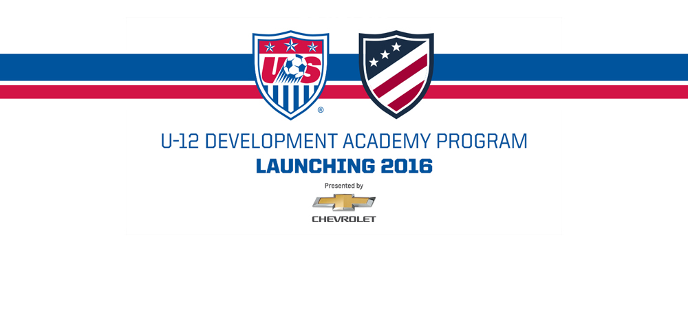 U.S. Soccer Development Academy Adds 56 Clubs at Under-12 Division for 2016-17 Season