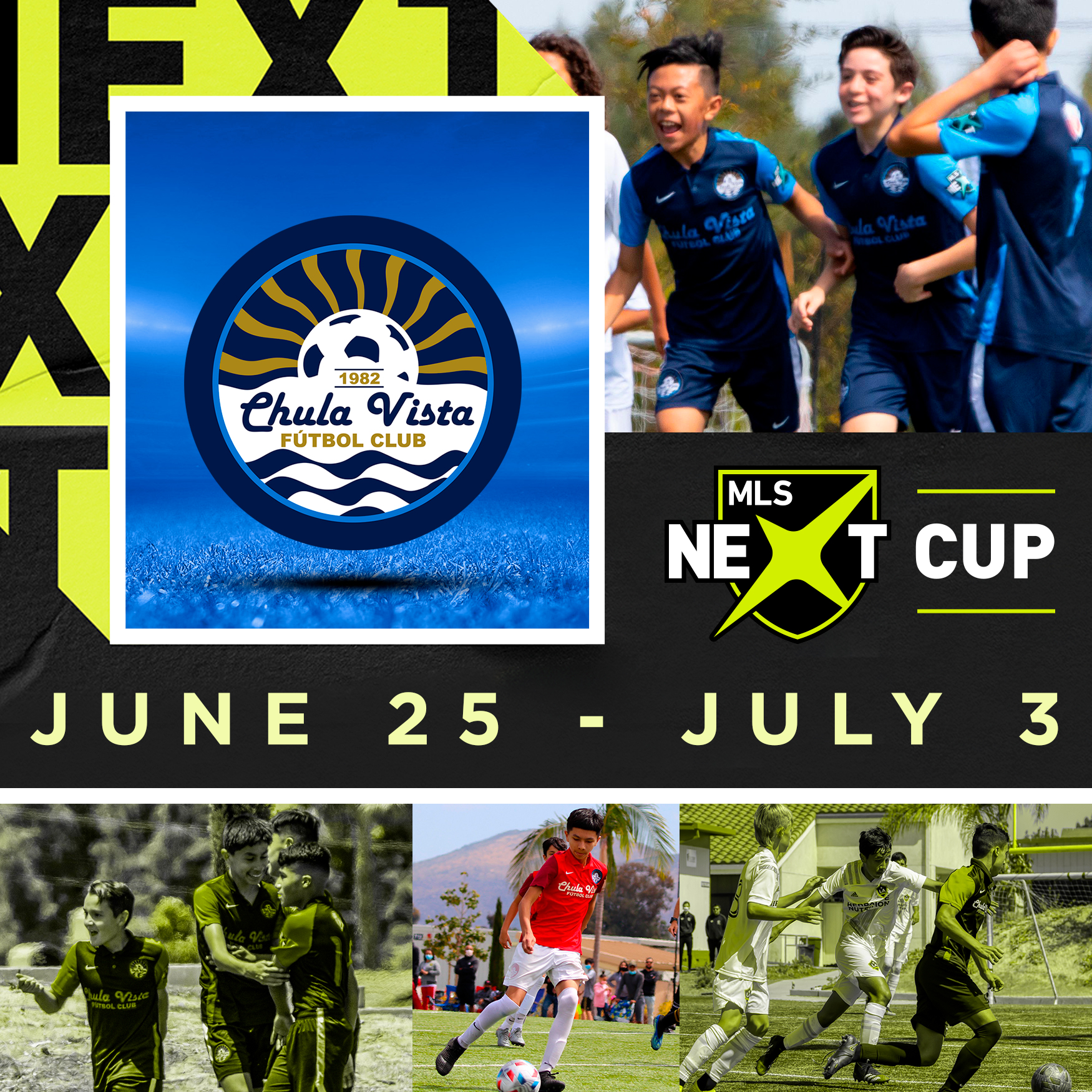Rising Talent of MLS NEXT Set to Compete in Dallas  Area This Summer