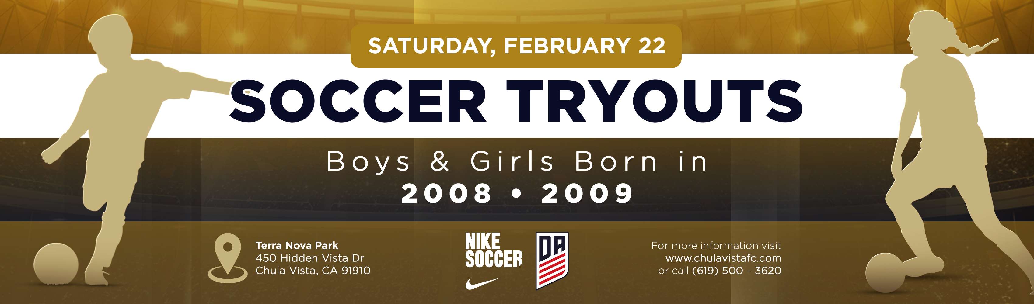 Younger Tryouts Announced