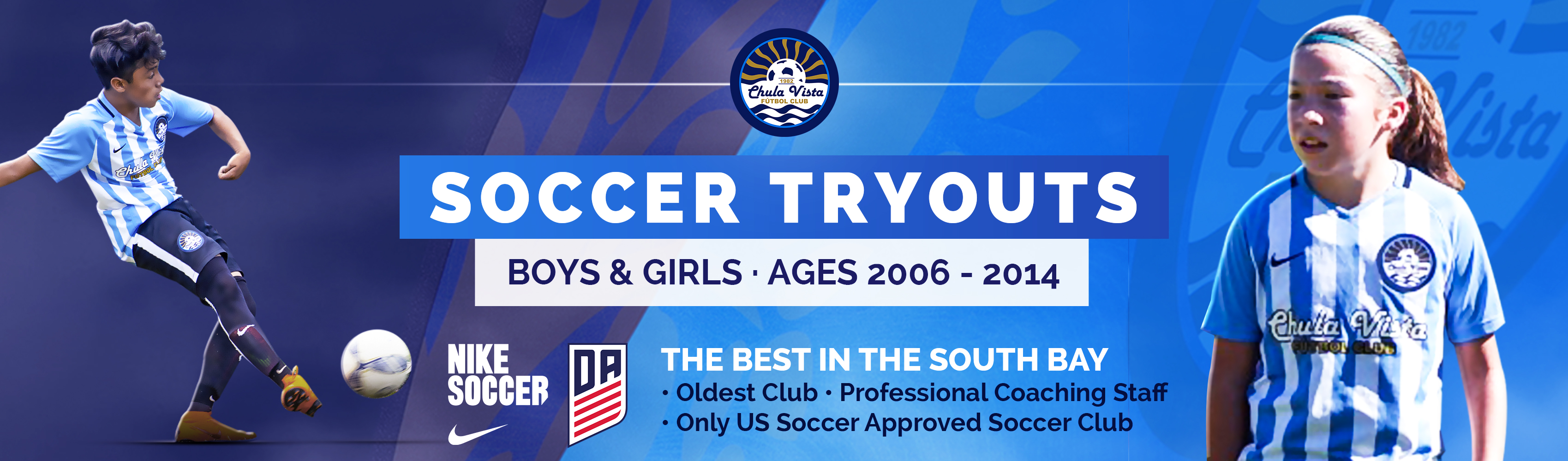 Chula Vista FC Announces Youth Tryouts