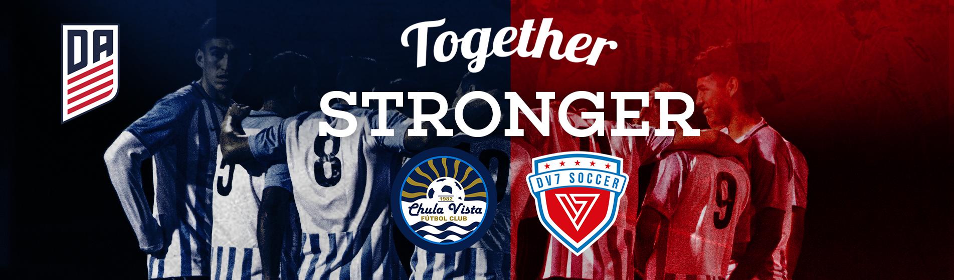 Chula Vista FC and DV7 Soccer partner up